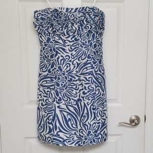 Ann Taylor Silk Strapless Dress